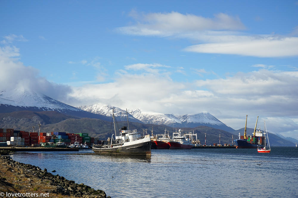 Le port d'Ushuaia
