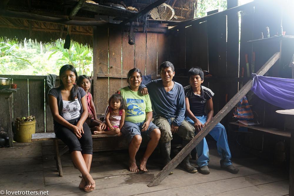 Asa wanchu en amazonie equatorienne