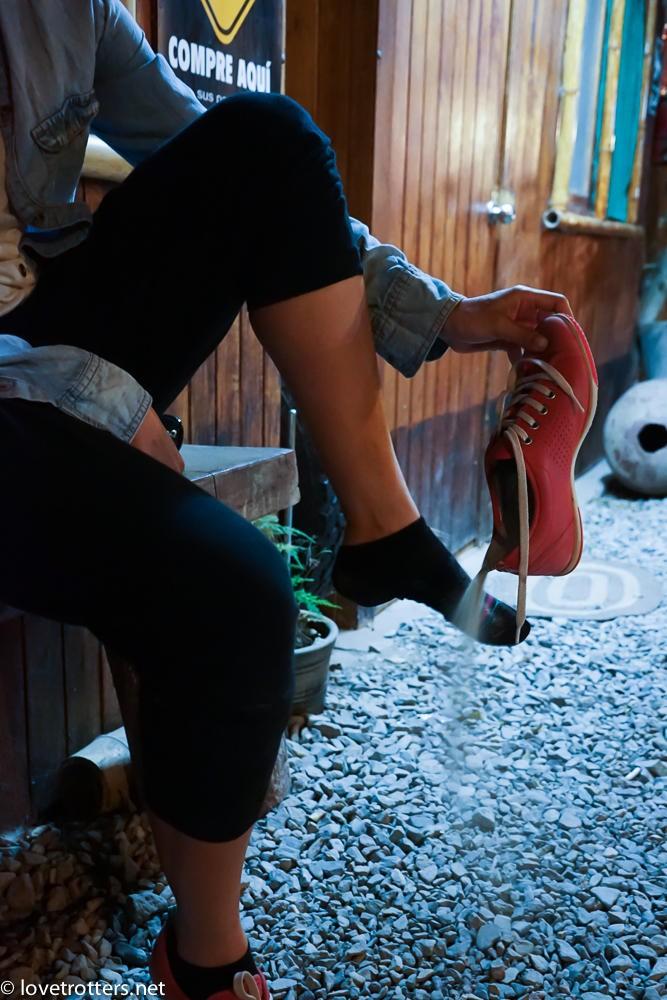 Du sable dans les chaussures à Huacachina