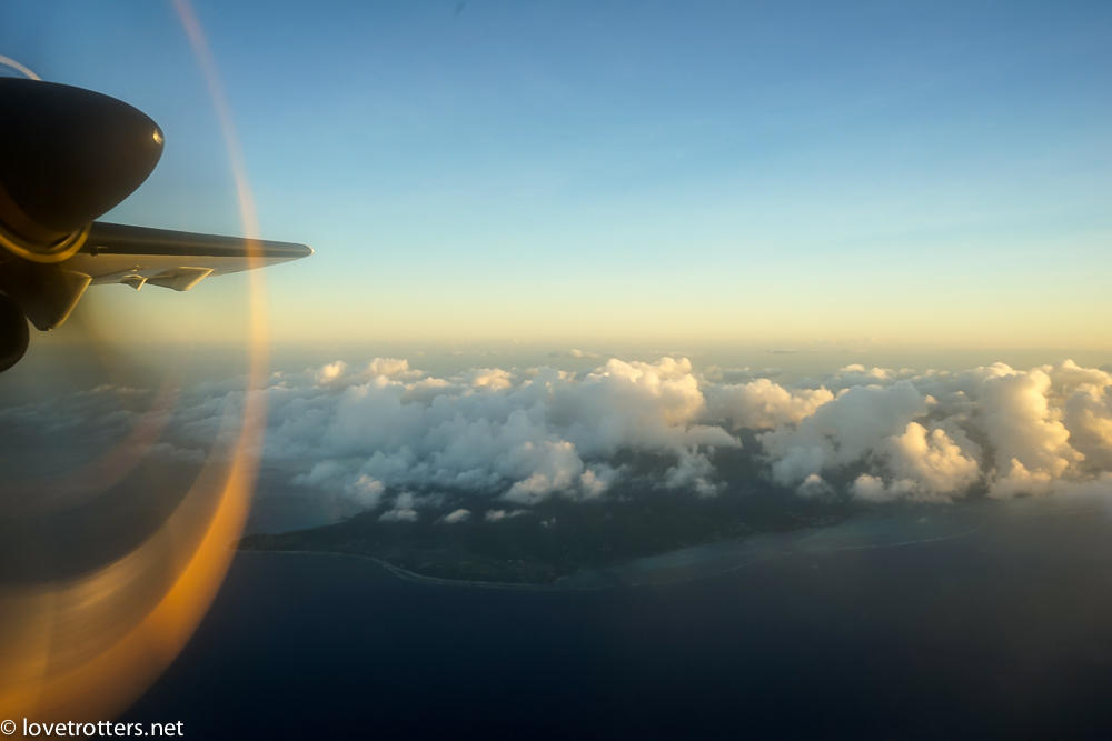 Polynesie francaise bora bora avion