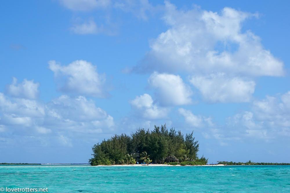 Notre Motu à bora bora Polynesie francaise
