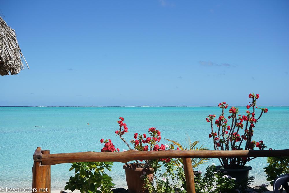 Plage de Madera à Bora Bora en Polynésie française