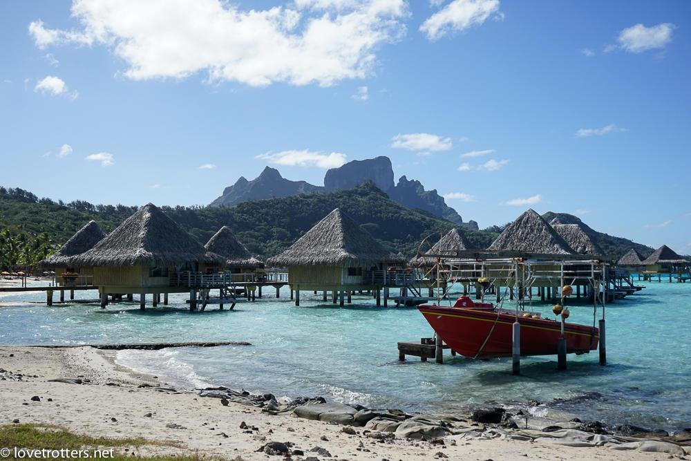 Polynesie francaise bora bora overwater bungalows