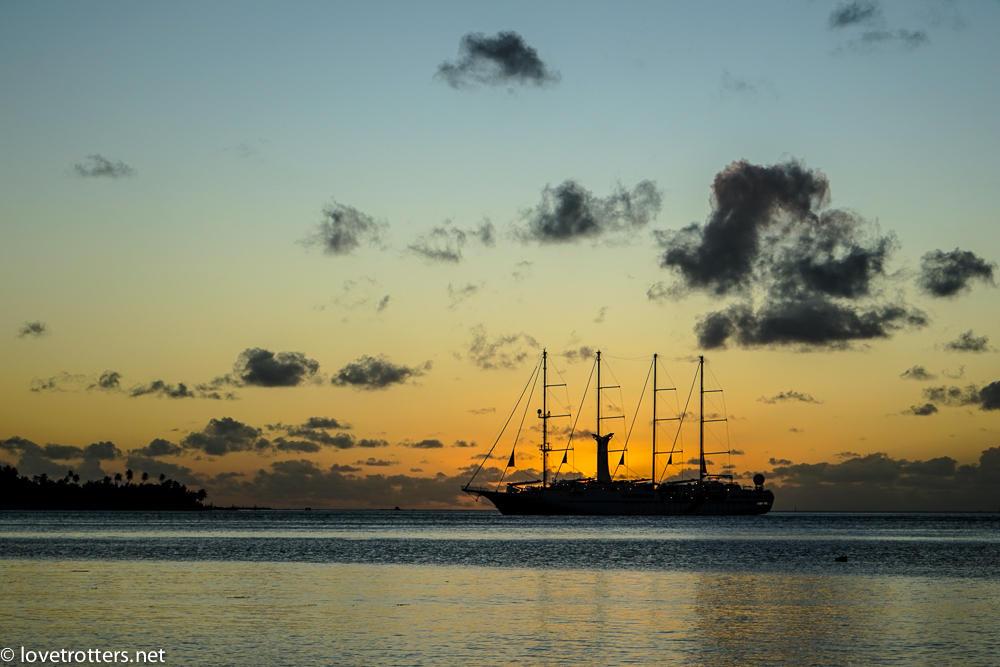 Polynesie francaise bora bora sunset