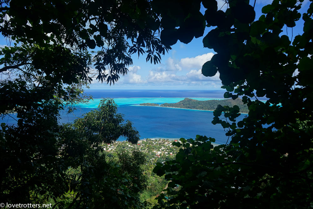 Polynesie francaise bora bora montagne