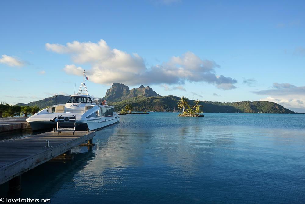 Polynesie francaise bora bora aeroport