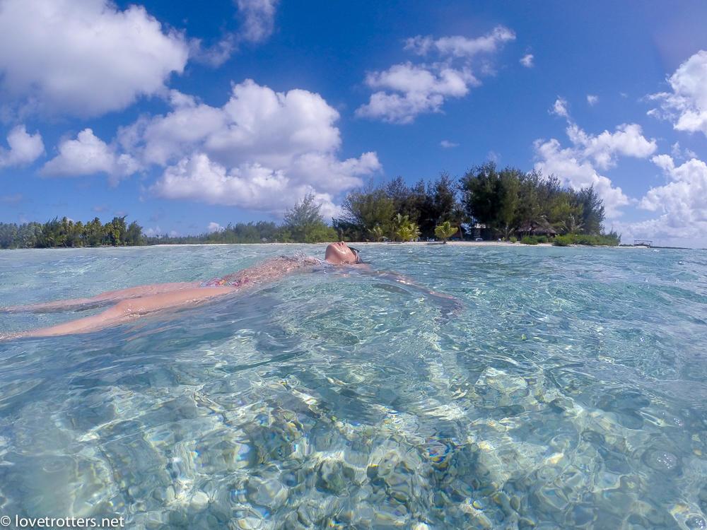 Polynesie francaise bora bora lagon