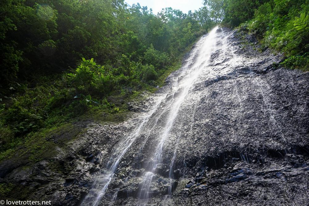 cascade de Moorea