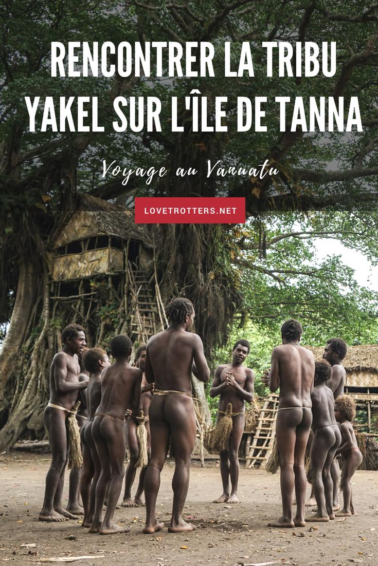 À la rencontre de la tribu Yakel sur l'île de Tanna au Vanuatu