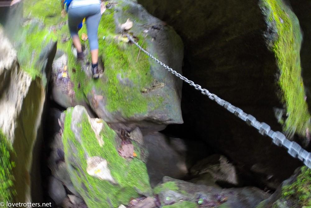cannyoning millenium cave