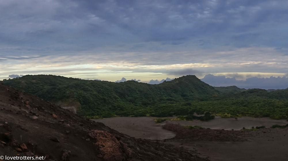 vue du mont yasur