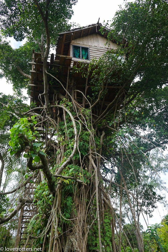 treehouse proche du volcan yasur à tanna