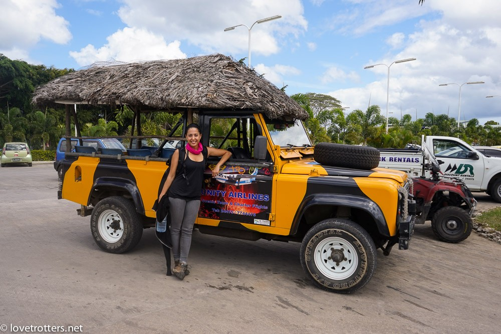 Unity Airlines Tanna Tour Jeep