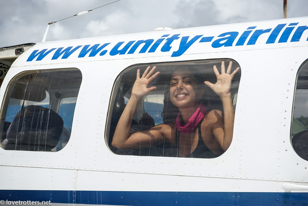 Unity airlines plane