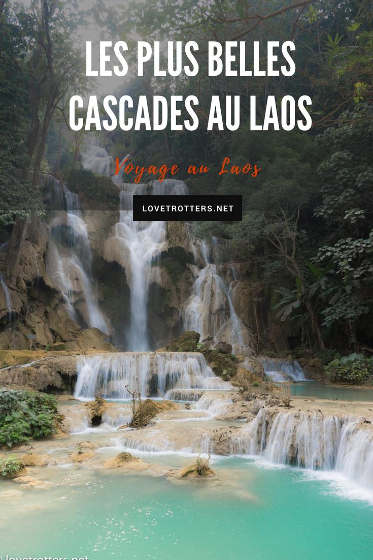 Les plus belles cascades de Luang Prabang au Laos