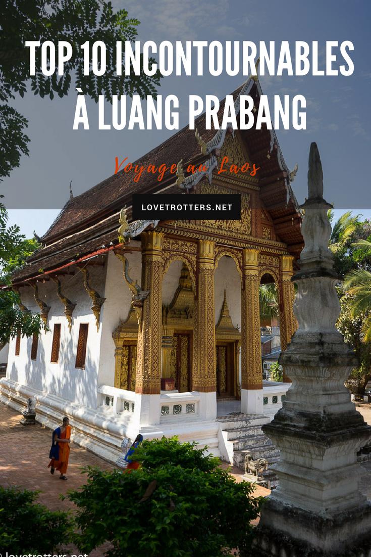 Activités et visites à faire à Luang Prabang au Laos