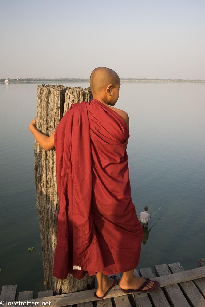 Myanmar - Mandalay - ubein bridge-07622