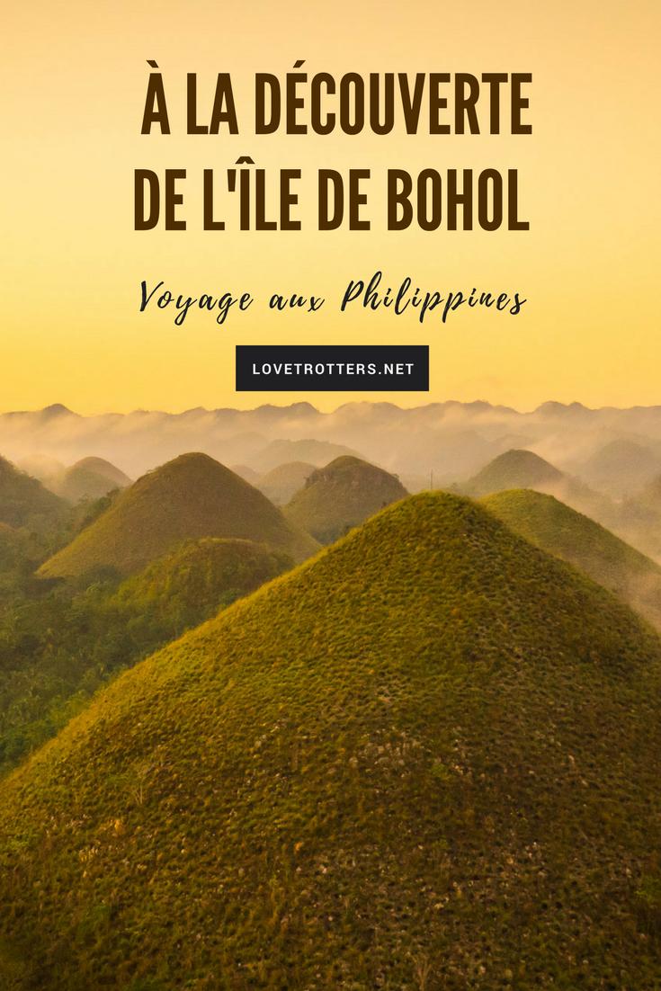 À la découverte des curiosités géologiques de l'île de Bohol aux Philippines