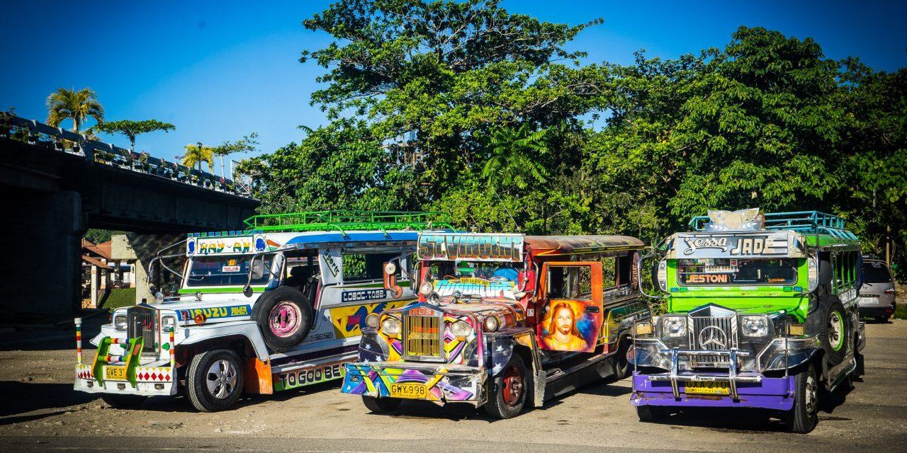 Virée en moto sur l'île de Bohol aux Philippines