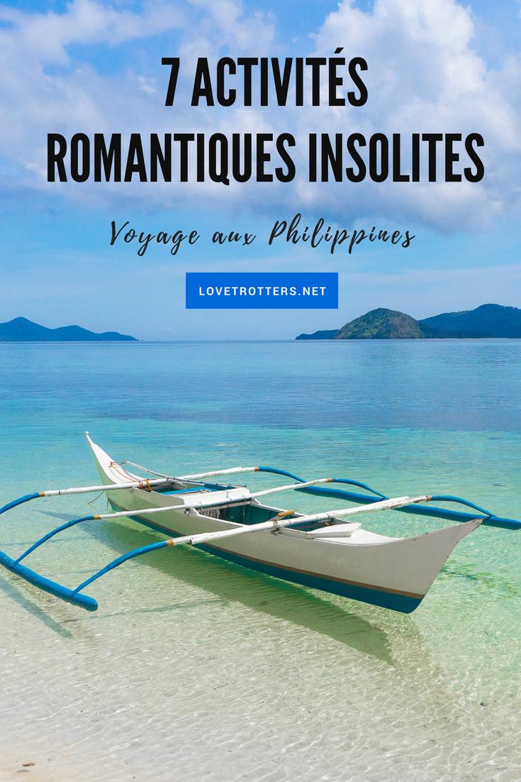 Idées d'activités romantiques pour un voyage en couple aux Philippines