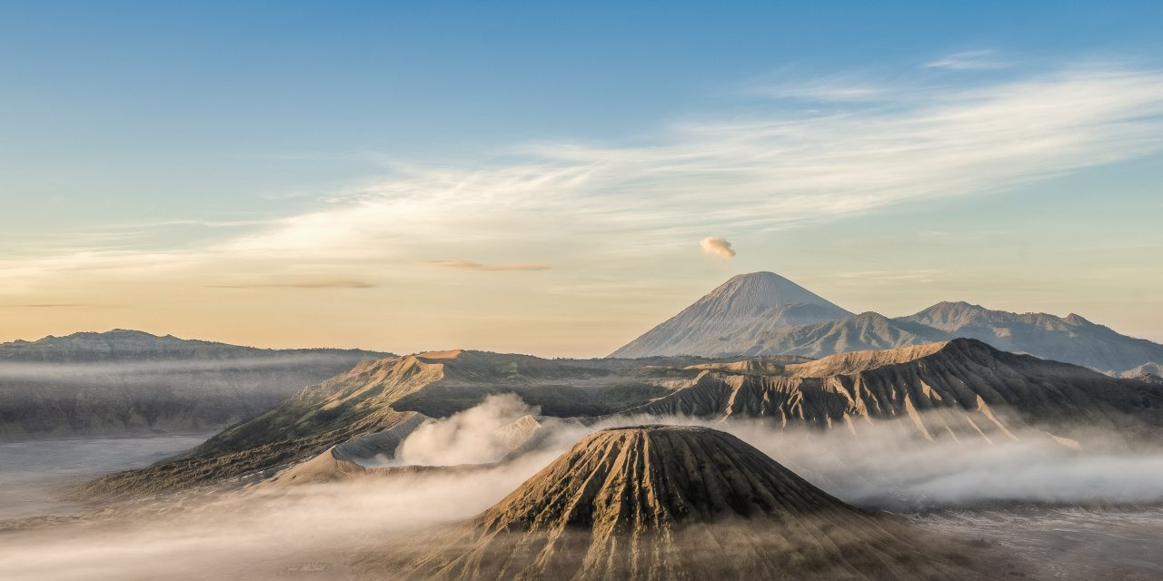 Le volcan Bromo à Java, le plus beau volcan de l'Indonésie ?