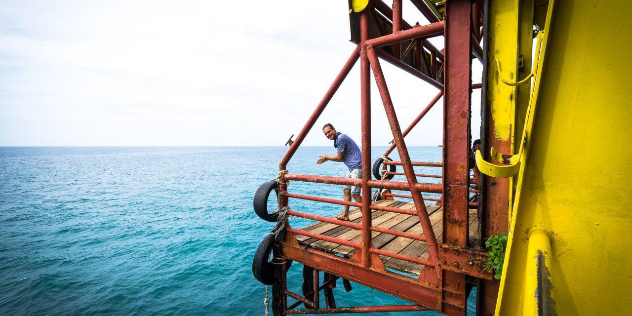 Séjour de plongée sur une plateforme pétrolière à Sipadan Bornéo