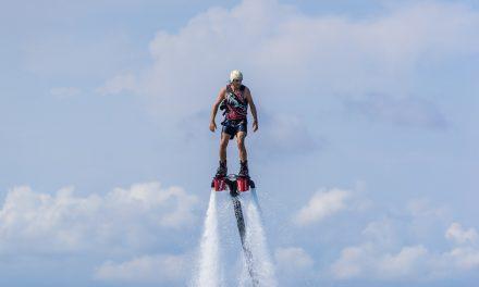 J'ai testé le FlyBoarding à Nusa Dua