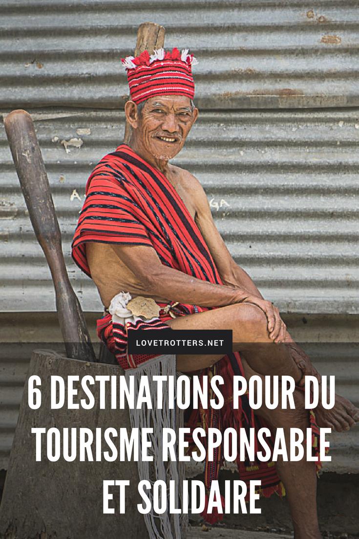 6 destinations pour un voyage responsable et solidaire