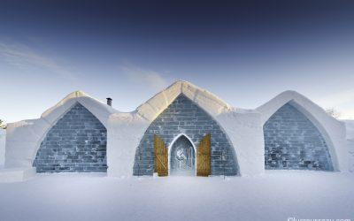 Hébergement insolite: Dormir dans un hôtel de glace à Québec