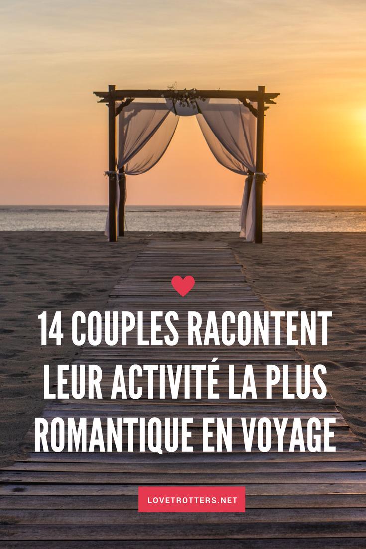 14 couples racontent leur expérience de voyage romantique