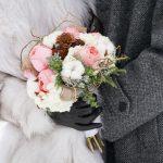Notre mariage d'hiver sous la neige à Montréal