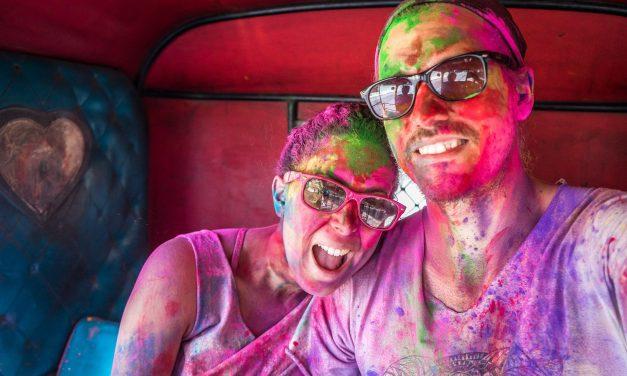 Guide de survie au festival des couleurs Holi en Inde