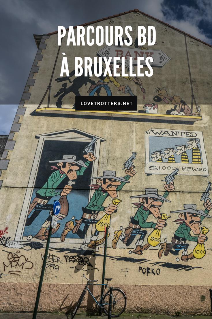 Visiter Bruxelles autrement à travers le parcours de bandes dessinées