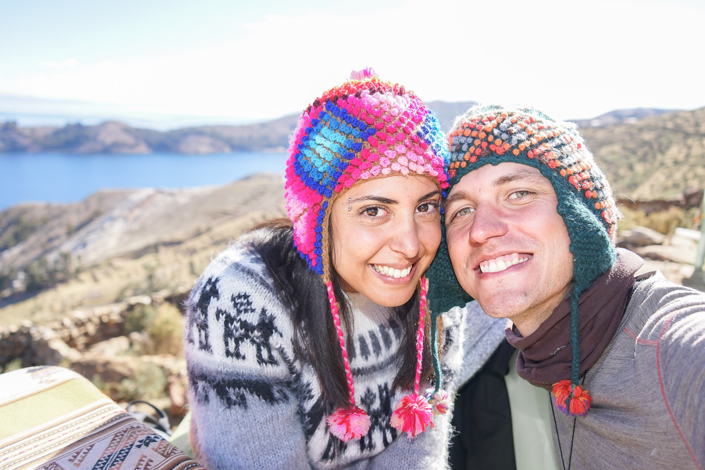 bolivie-isla-del-sol-selfie-09328