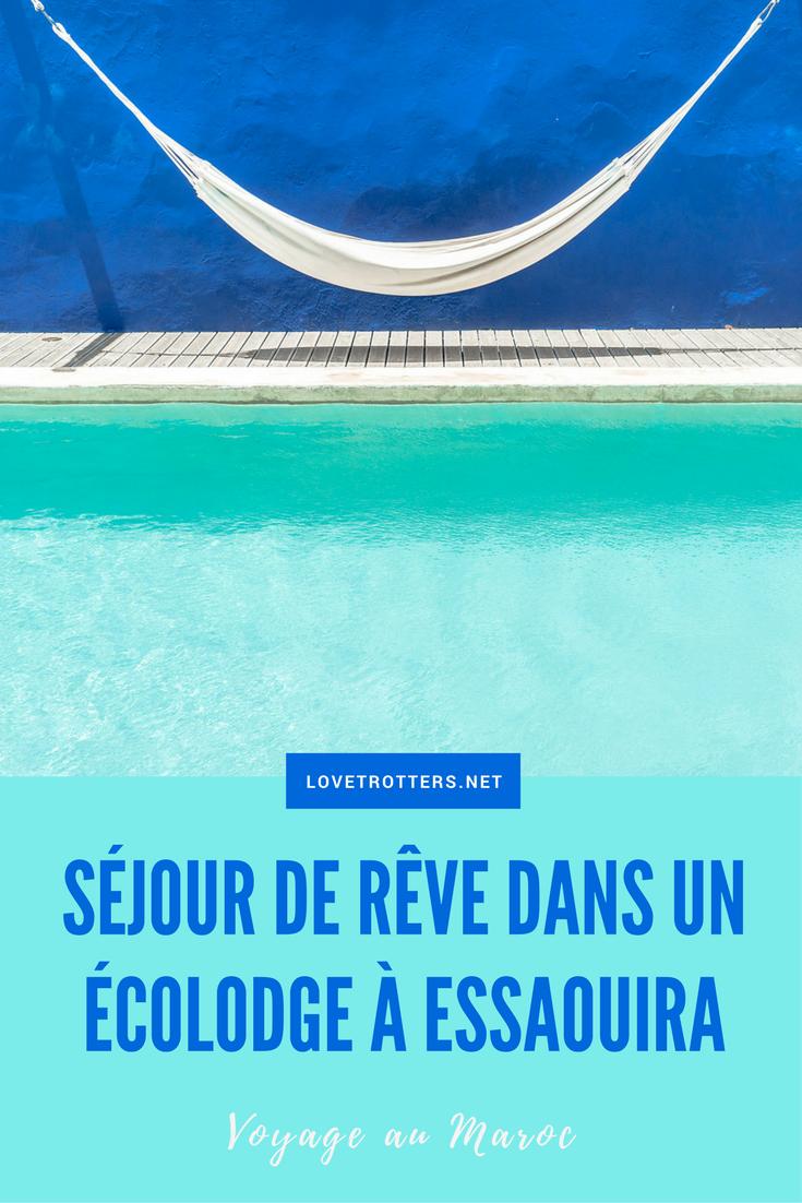 Séjour en amoureux dans un écolodge à Essaouira