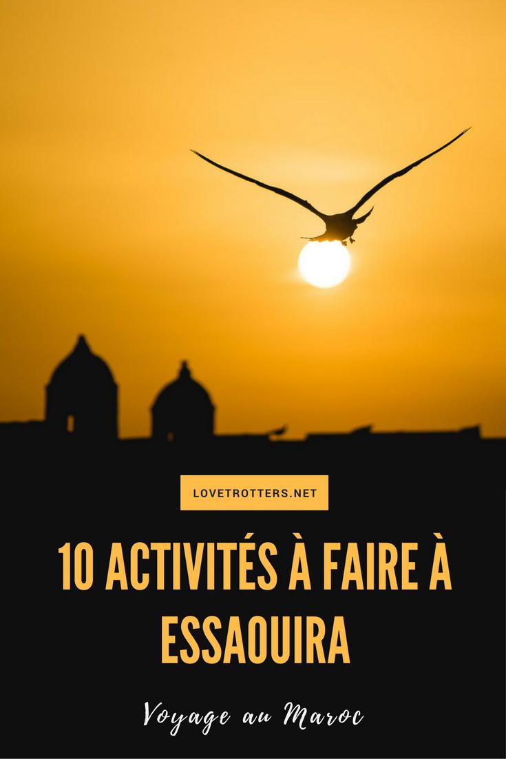 10 activités à faire à Essaouira