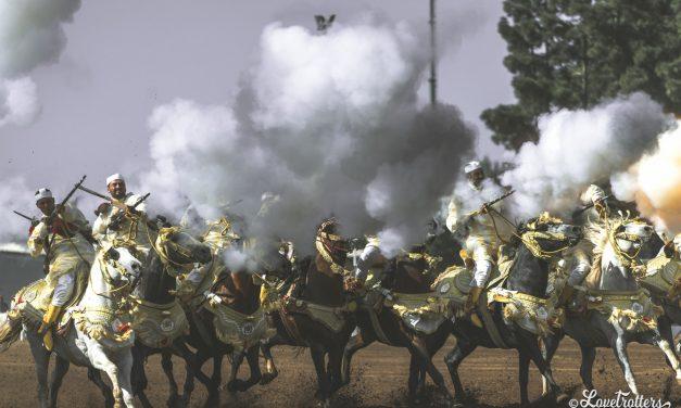 Comment assister à une fantasia Tbourida au Maroc?