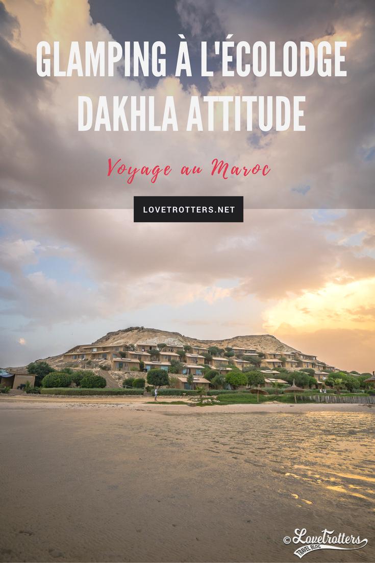 Glamping et kitesurfing à l'écolodge Dakhla Attitude