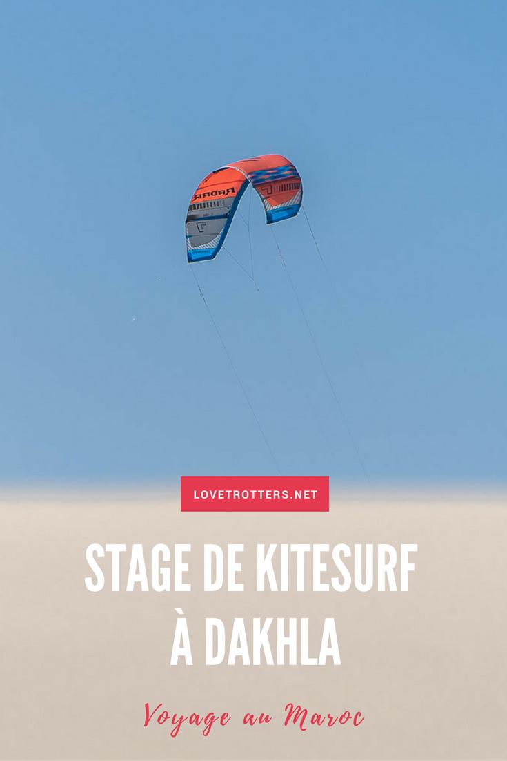 Apprendre à faire du kitesurf à Dakhla