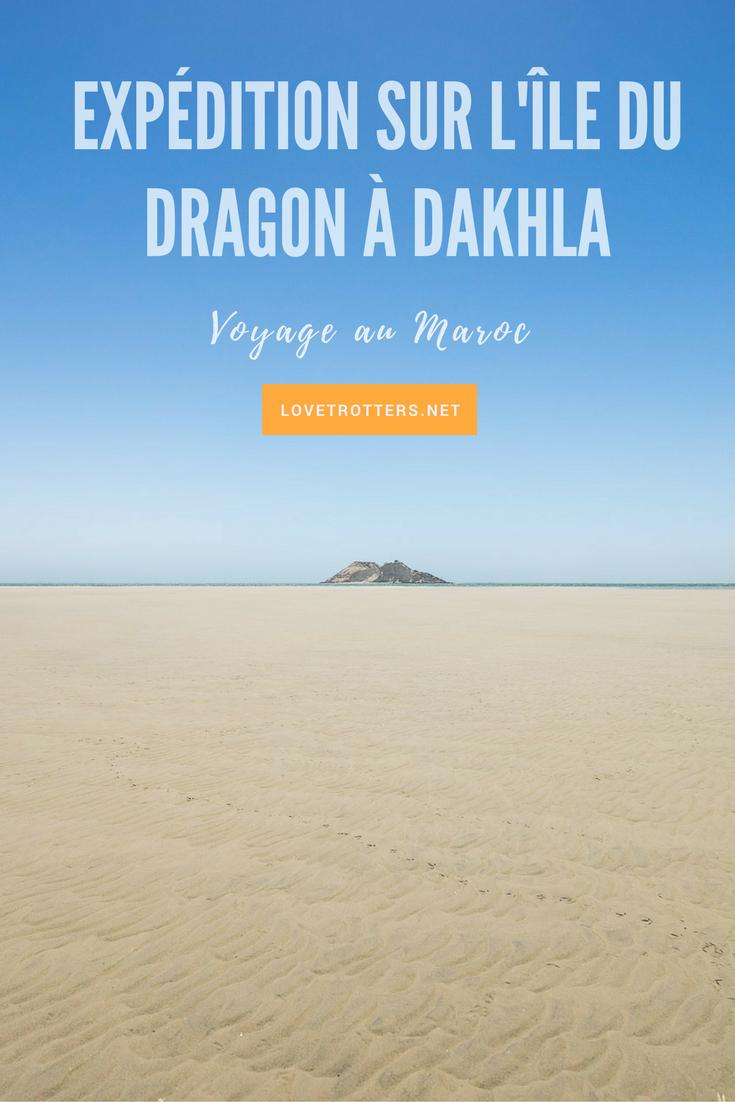 Expédition en catamaran sur l'île du dragon à Dakhla
