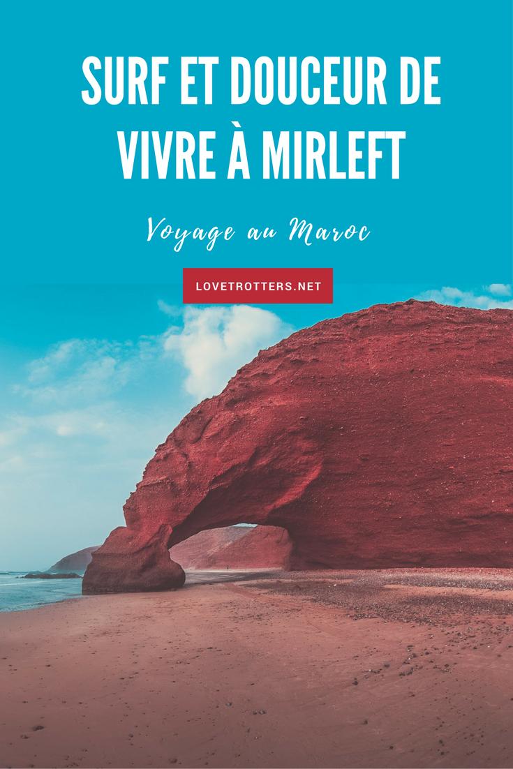 Surf sur les plages de Mirleft et Tiznit