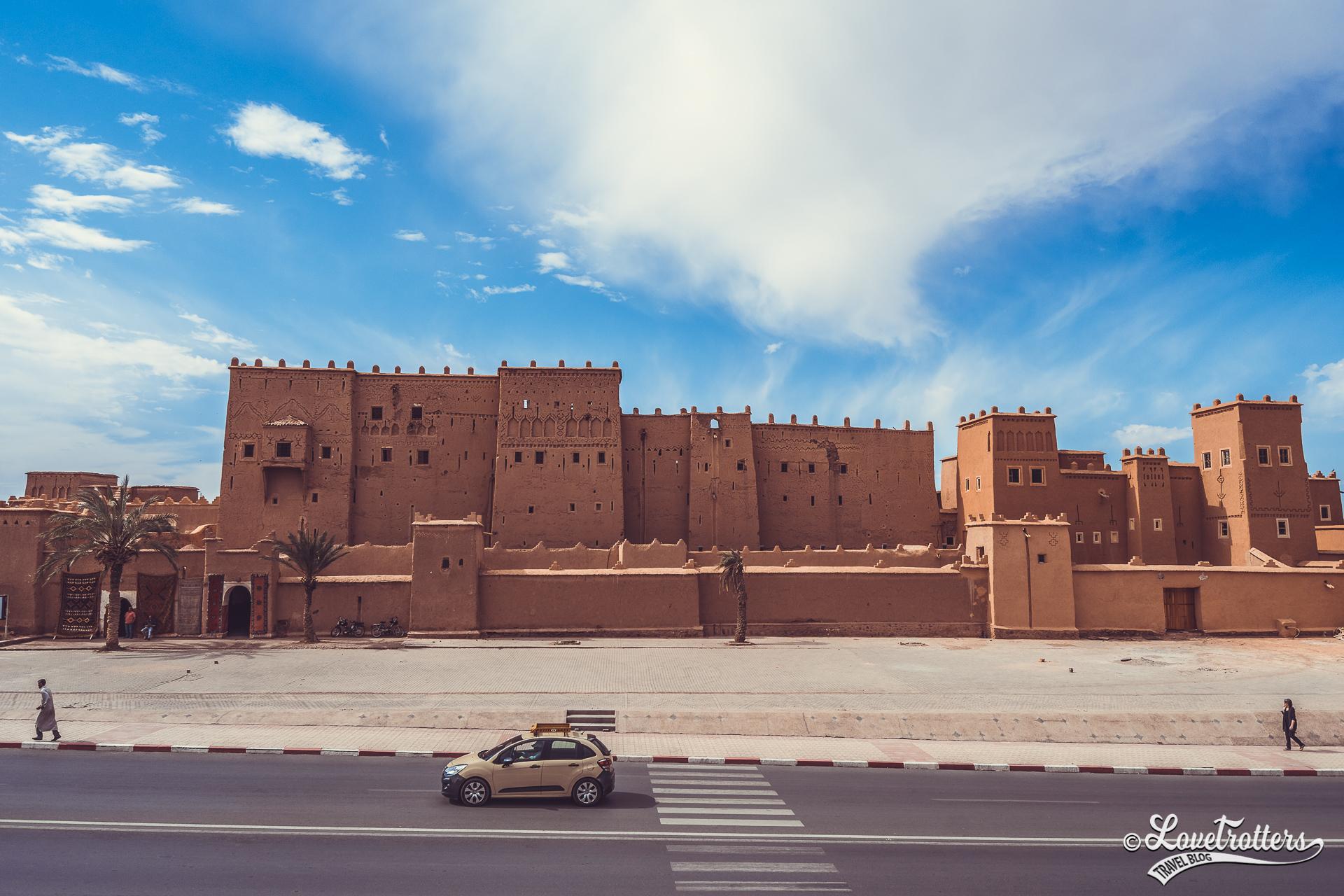 Roadtrip de Marrakech à Merzouga en passant par Ouarzazate