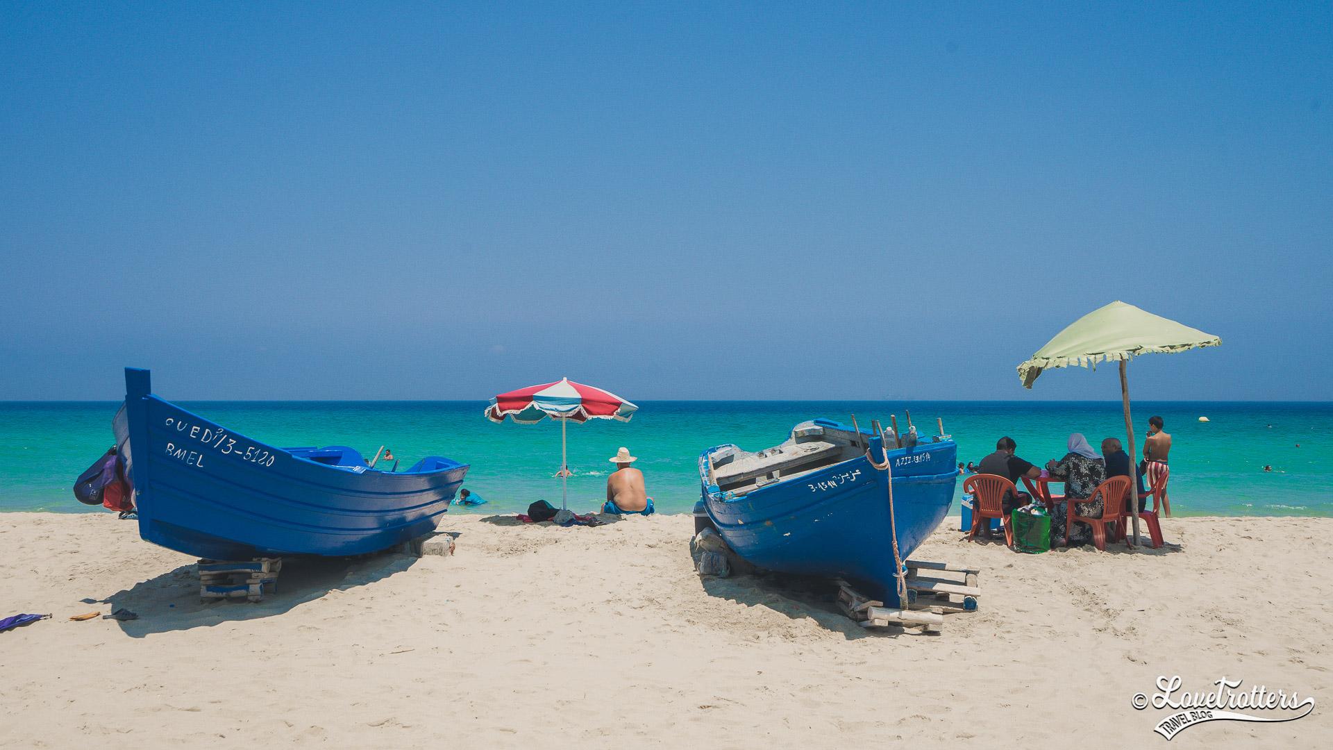 Les plus belles plages sauvages du Maroc : Plage Dalia entre tanger et tetouan