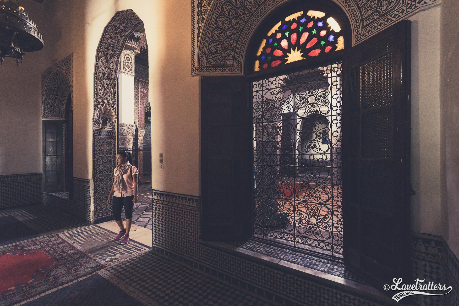 Visite du palais dar sebti à Oujda