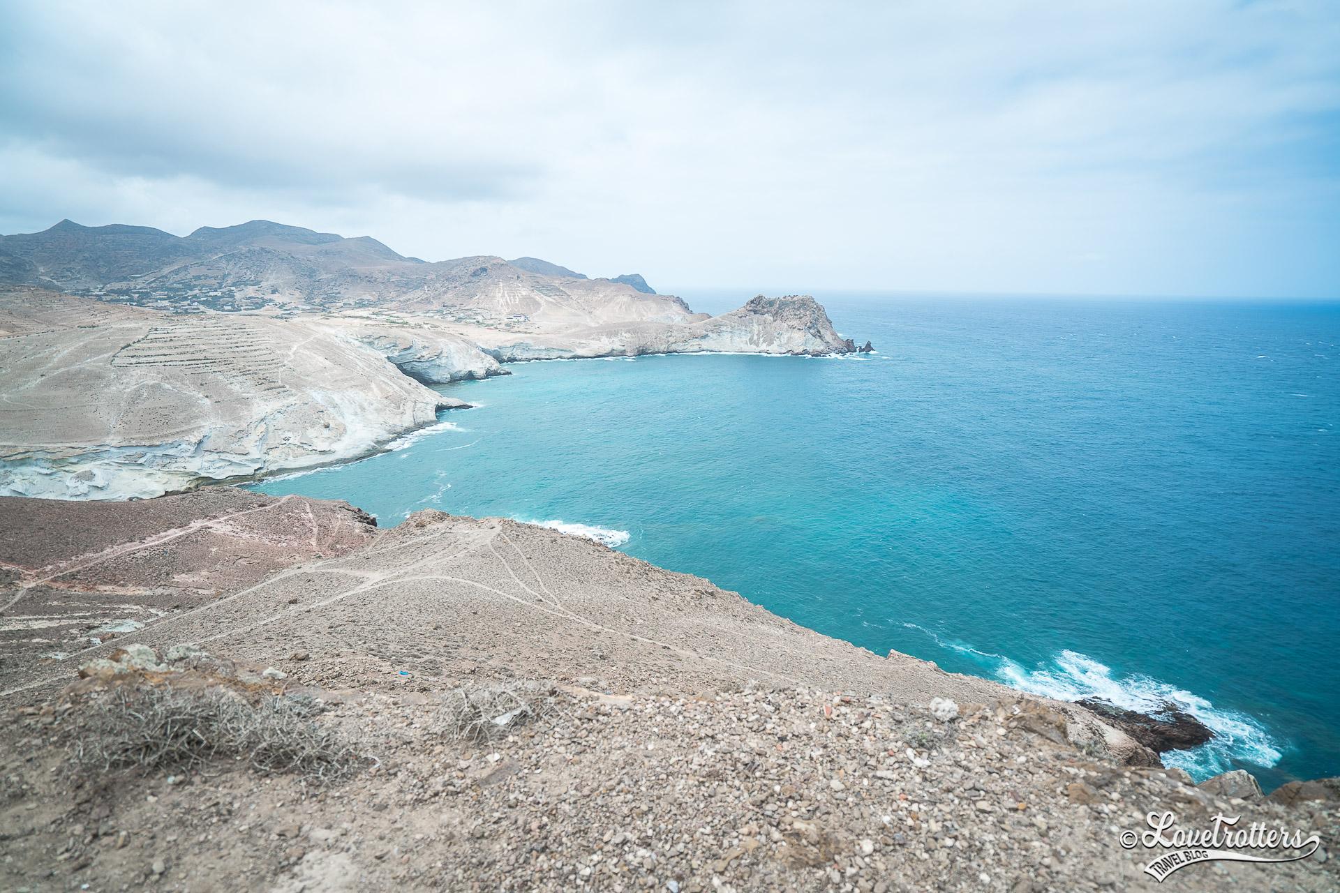 Les plus belles plages sauvages du Maroc : Cap des trois fourches à Nador