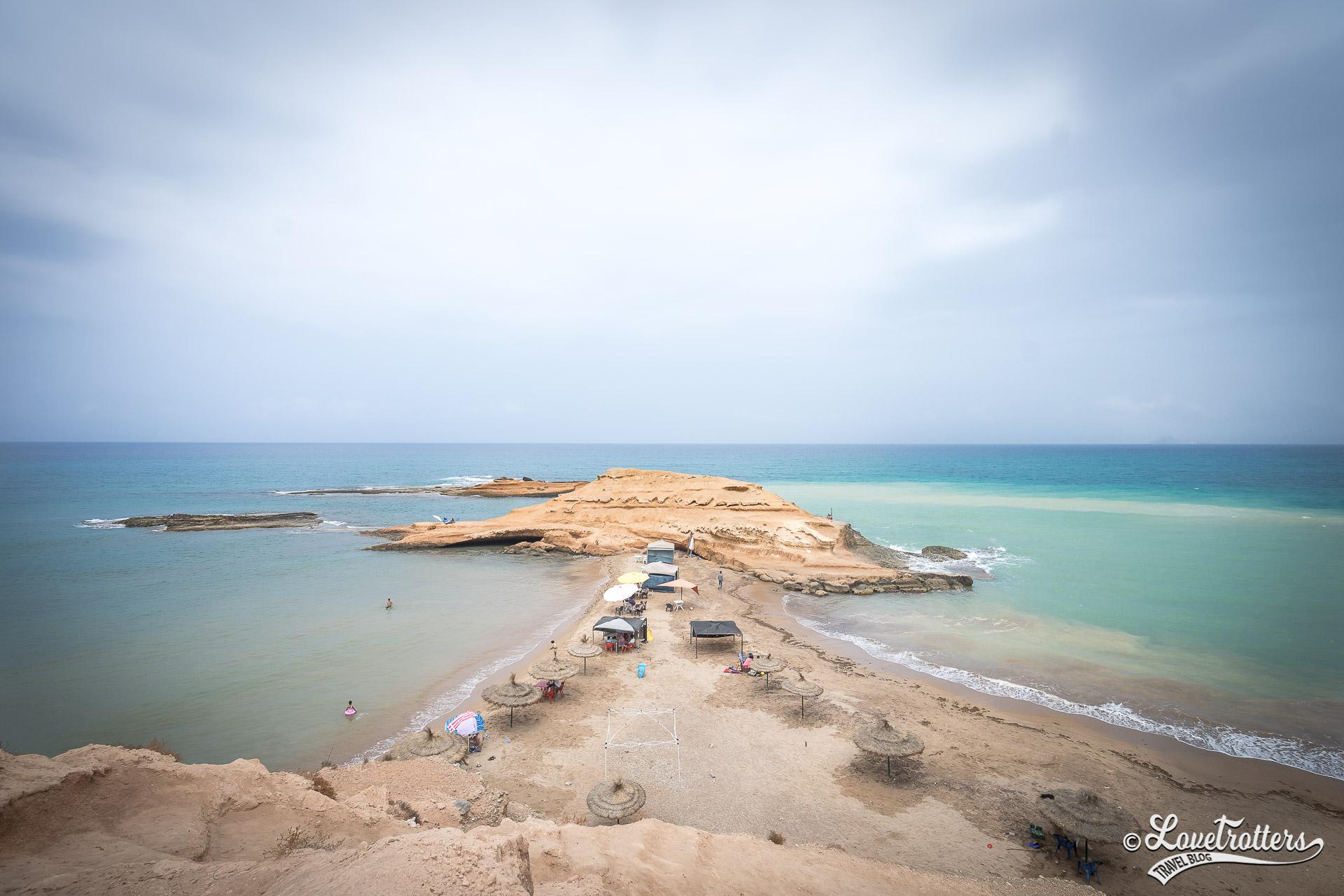 Les plus belles plages sauvages du Maroc : Plage Sid el Bachir à saidia