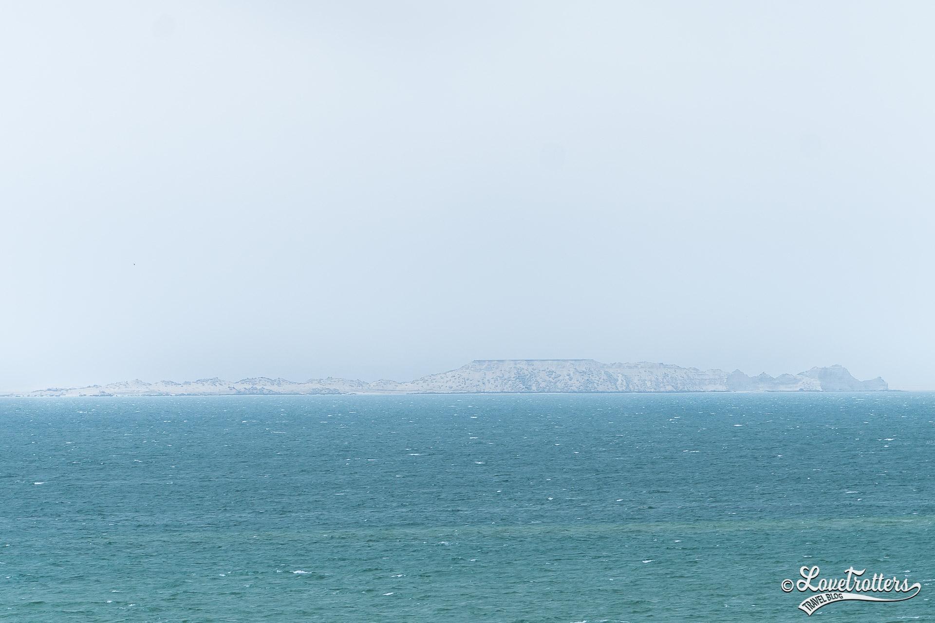 L'île Herné a la silouhette d'un dragon