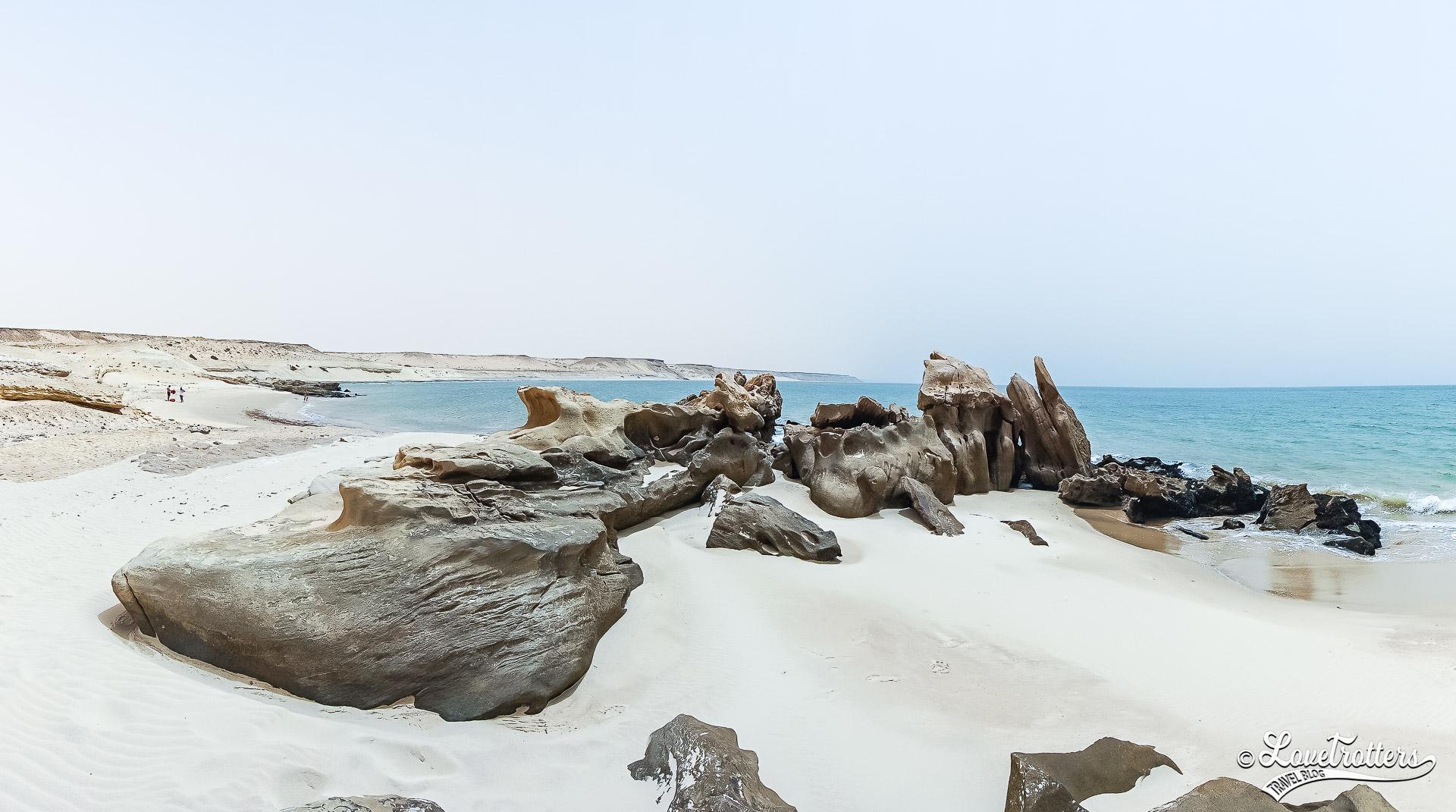 Les plus belles plages sauvages du Maroc : porto rico à Dakhla
