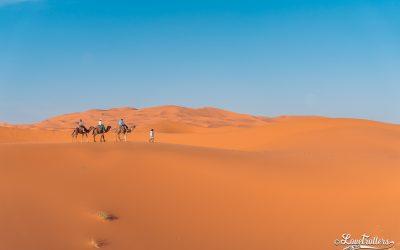Nuit en bivouac au Sahara: Merzouga – Erg Chebbi
