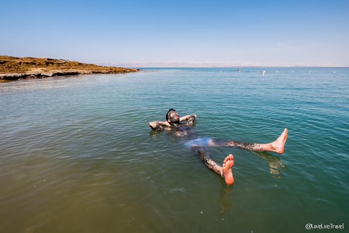 spa naturel: la mer morte en Jordanie